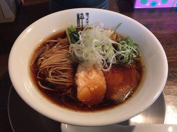 「丸鶏醤油らぁ麺(880円)」@麺'S食堂 粋蓮の写真