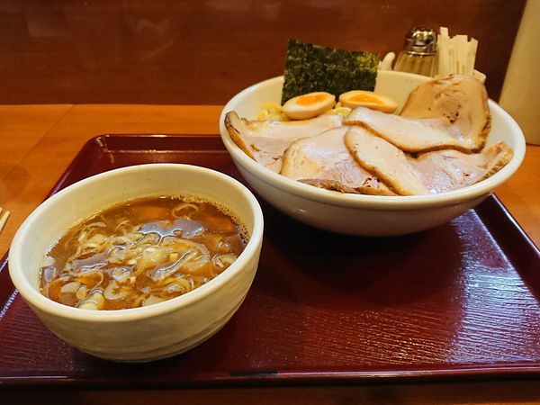 「つけ麺+味玉+チャーシュー」@めん 和正の写真