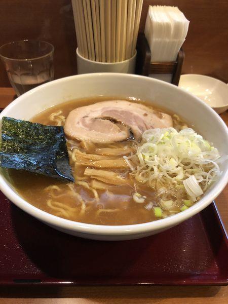 「中華麺 ネギ増し」@めん 和正の写真