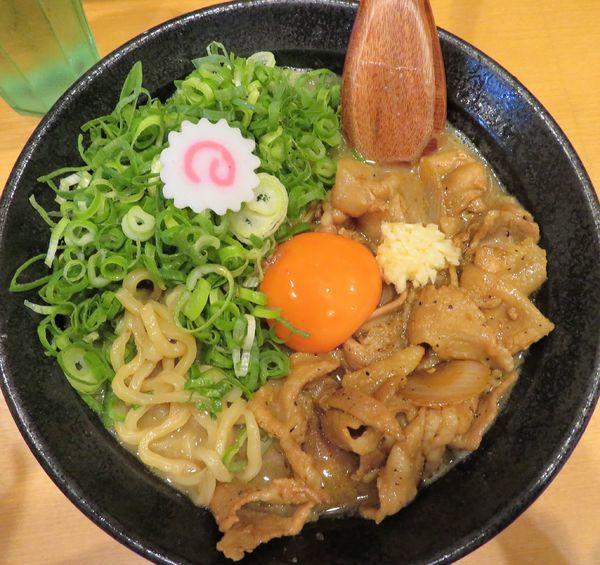 「ネギ増し肉玉そば(850円)」@肉玉蕎麦 おとど 北松戸総本山の写真