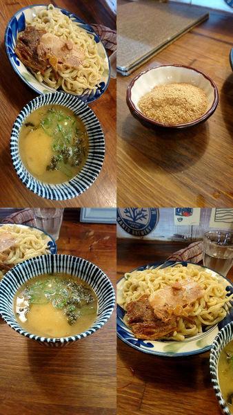 「『沖縄つけ麺+大盛(税別¥780+100)』」@浜風食堂の写真