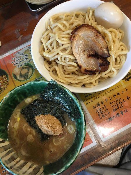 「燻玉つけ麺」@麺や 璃宮の写真