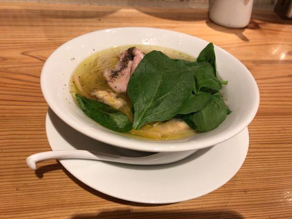 「5種の貝ダシソバ」@自家製麺 うろたの写真