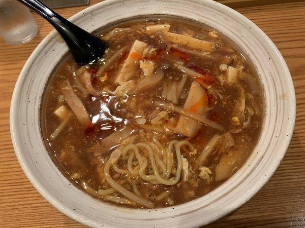 「酸辣湯麺」@涼の写真