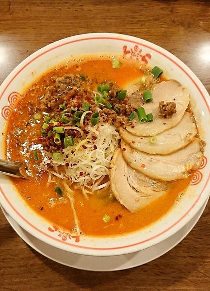 「担々麺&チャーシュー」@東京とんこつ とんとら 深谷店の写真