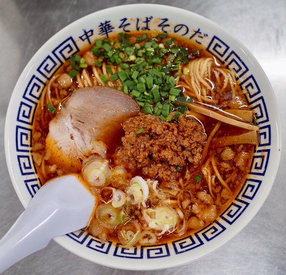 「台湾ラーメン…700円、魯肉飯…350円」@中華そば そのだの写真