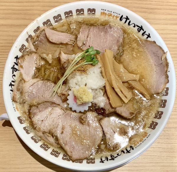 「肉煮干中華そば」@肉そば けいすけ 錦糸町店の写真