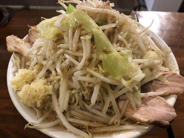 「ラーメンポン酢・ニンニク(800円)」@ラーメン凛 砂町店の写真