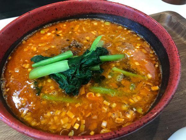 「金ゴマ坦々麺 950円」@TEN TENとTAN TAN 岐阜店の写真