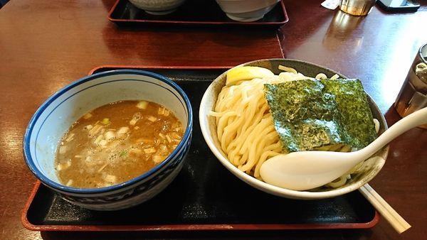 「濃厚煮干つけ麺 大」@麺屋 甍の写真