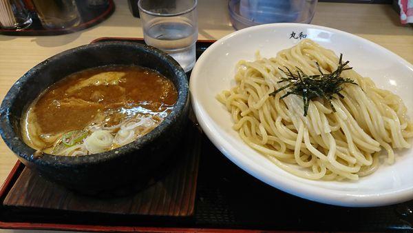 「丸和つけ麺 並盛」@つけ麺丸和 各務原分店の写真