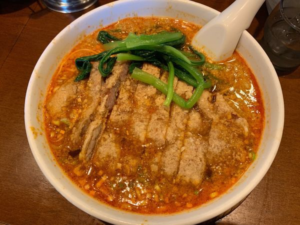 「排骨担々麺980円」@らーめん 亜寿加の写真