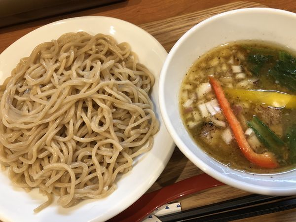 「つけ麺+大盛」@ひよこプリンの写真