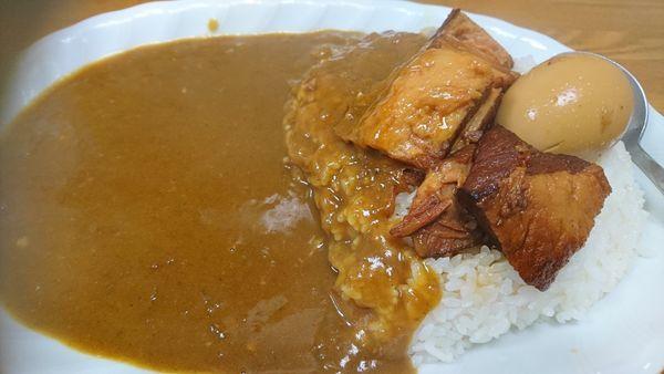 「豚角煮カレー(なぜか680円)」@ジャン・カレー 末広町店の写真