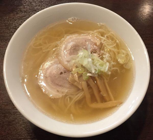 「煮干しラーメン650円」@中華そば 来味 板橋店の写真