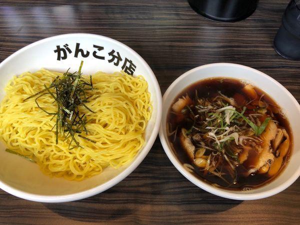 「和風醤油つけ麺 麺2玉」@元祖一条流がんこ 総本家分店の写真