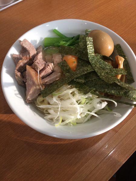 「まぜそば 生卵」@中川家の写真