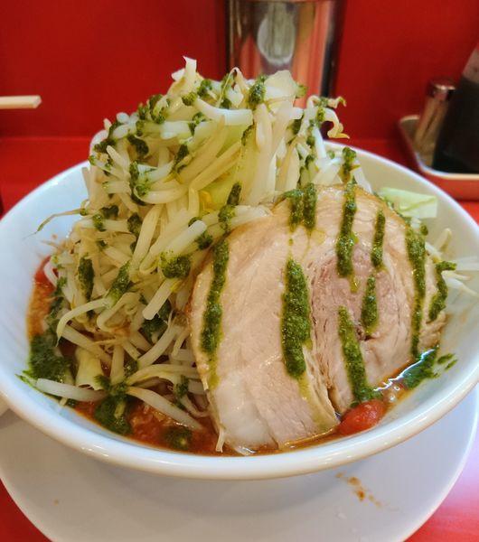 「トマトラーメン 300g 普通」@自家製麺 ダイサンの写真