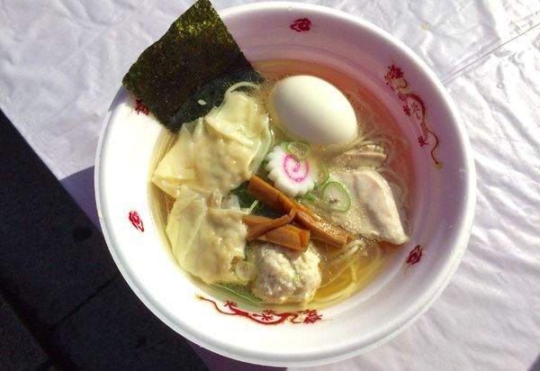 「飛来幸地鶏の黄金塩そば with味玉」@NAKAGAWA わずの写真