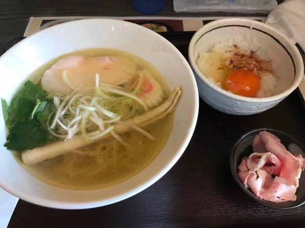 「天草大王の地鶏中華そば」@麺匠えにしの写真