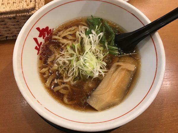 「トリプルスープの醤油ラーメン(肉なし)」@麺や 蔵人の写真