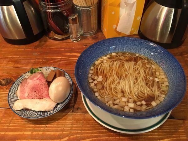 「煮干し醤油850」@麺屋ソミーズの写真