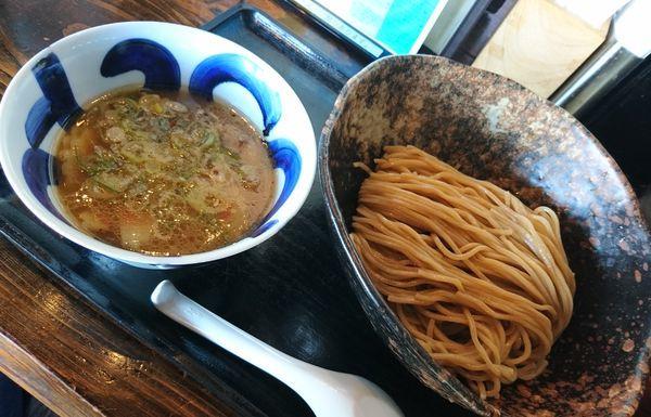 「つけ麺 中盛 細麺」@三ツ矢堂製麺 深谷花園店の写真