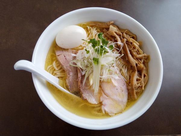 「特製鶏塩拉麺」@麺屋 心羽の写真