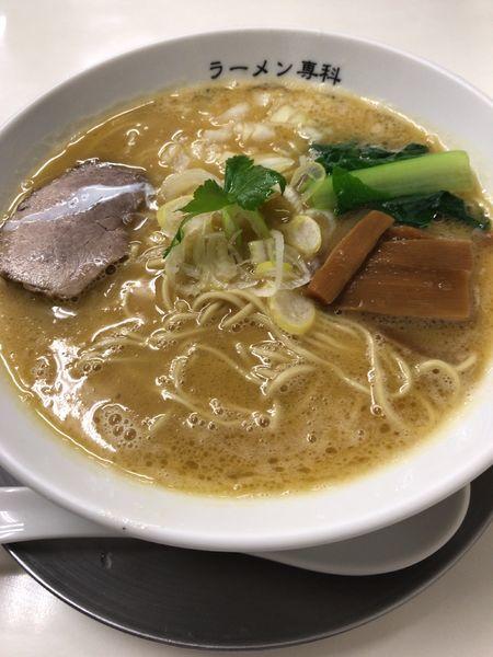 「こってり(800円)」@ラーメン専科 竹末食堂の写真