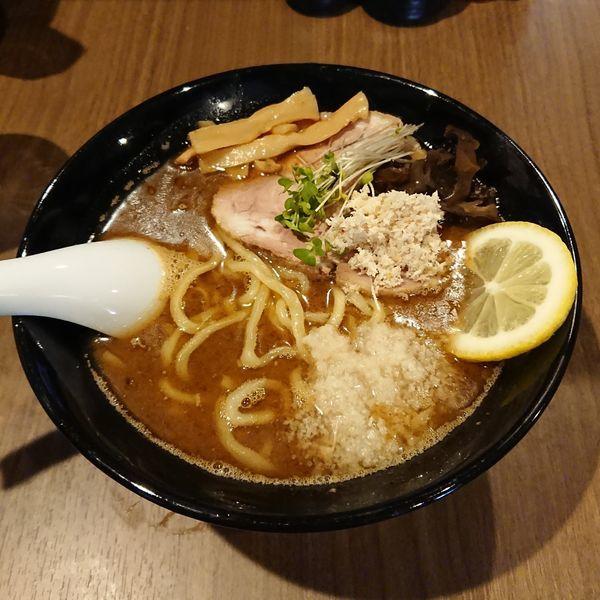 「濃厚サンマ出汁ra-men  @850円 限定」@らーめん つけ麺 NOFUJIの写真
