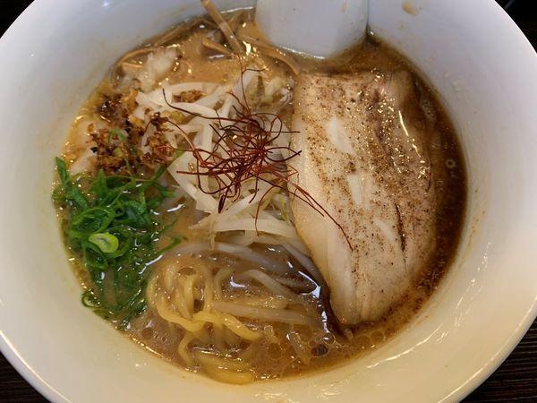 「山椒香る味噌らーめん(10月~11月限定)」@日本麺料理 さくらの写真