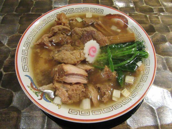 「特級生姜醤油そば(1000円)+豚マヨ丼250円」@特級鶏蕎麦 龍介の写真