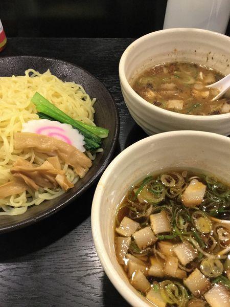 「つけめん食べ比べセット¥799→¥691(クーポン)」@幸楽苑 平塚四之宮店の写真