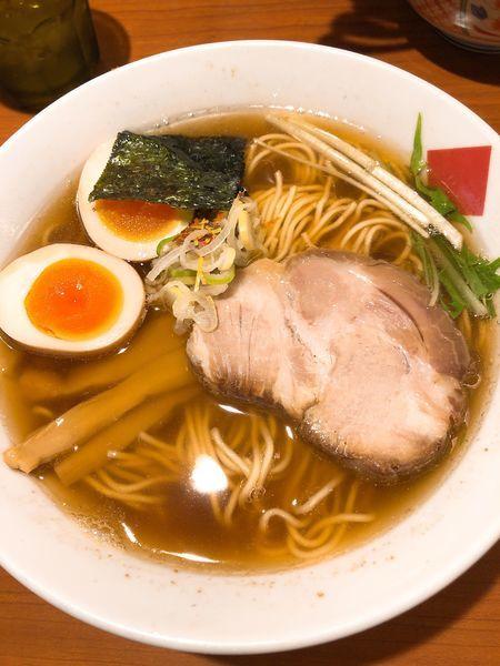 「醤油 中華そば ¥770 +煮玉子 ¥100」@東京の中華そば ちよがみの写真