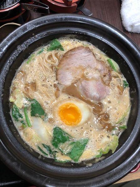 「豚骨味噌ラーメン」@せんじゅ 麺処 猪太の写真