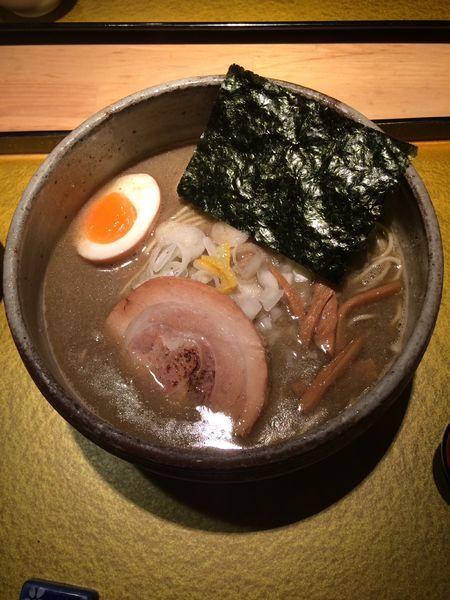 「煮干そば 塩」@麺屋 音の写真