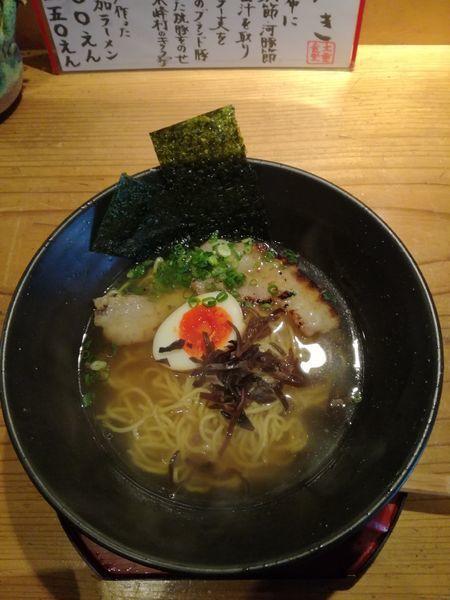 「純らーめん七節:800円」@大重食堂(BigHeavy Kitchen )の写真