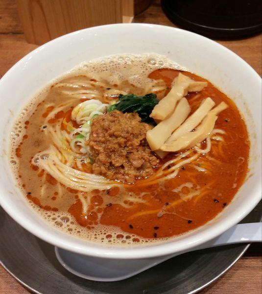 「担々麺590円」@舎鈴 ビーンズ武蔵浦和店の写真