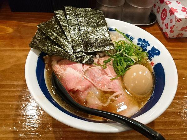 「特製煮干しそば」@濃厚煮干しそば 麺匠 濱星 関内店の写真