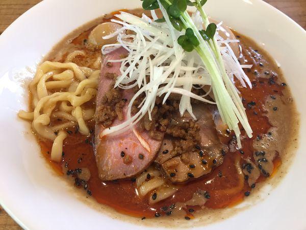 「特製坦々麺【限定】(1200円)+濃厚杏仁豆腐」@The Noodles & Saloon Kiriyaの写真