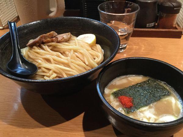 「塩つけ麺820円」@麺屋 炙りの写真