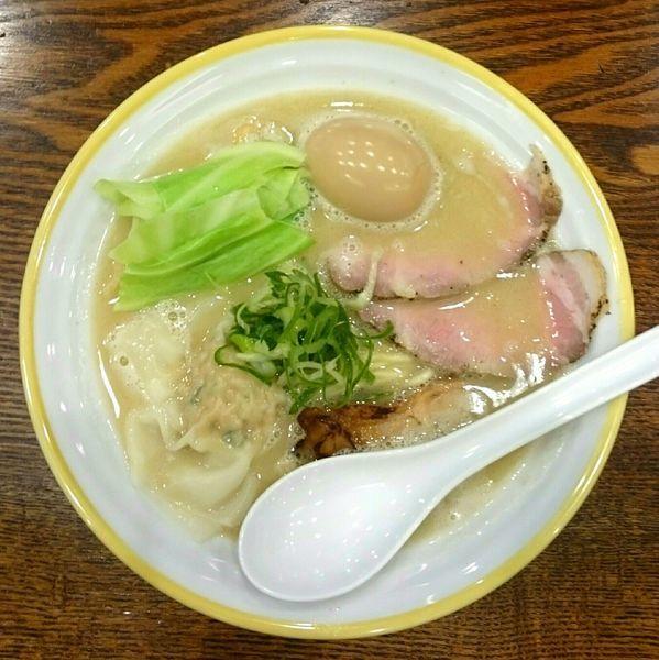 「特製鶏白湯そば」@鶏そば 志いなの写真