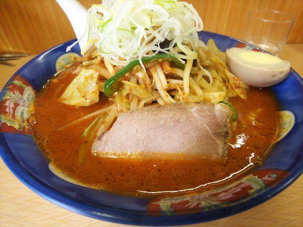 「鉄火麺野菜増し1000円」@味源 河辺店の写真