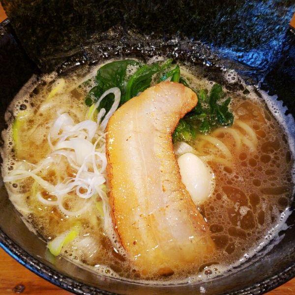 「家系とんこつ醤油らーめん 780円」@家系ラーメン 我雅家の写真
