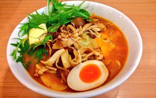 「きのこ味噌」@つけ麺らーめん 春樹 矢向店の写真