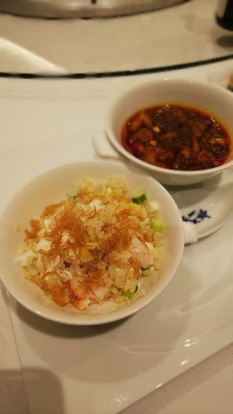 「蟹肉入りチャーハン」@重慶飯店 横浜中華街 本店の写真