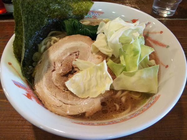 「豚骨醤油 (中)1.5玉」@麺屋さくらの写真