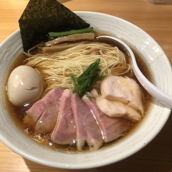 「特製醤油らぁ麺(大盛)」@麺屋 さくら井の写真