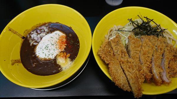 「とんかつカレーつけ麺(1000円)」@カレーつけ麺 壬生の写真