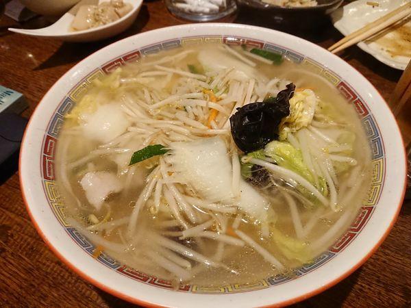 「湯麺(タンメン)800円 他いろいろ」@旬彩庭華美の写真